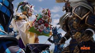 Power Rangers Ninja Steel - Galvanax Gets the Power Stars | Episode 19