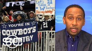 Stephen A. Smith goes on epic rant about Cowboys fans ahead of game vs. Eagles | SportsCenter | ESPN