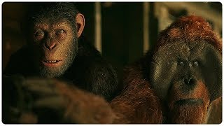 War for the Planet of the Apes All Trailers (2017) Action Movie HD