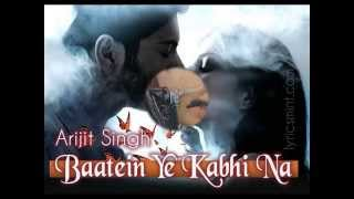 Baatein Ye Kabhi Na(KHAMOSHIYAN) Song Cover By Dr. Manoj