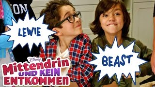 Mittendrin und kein Entkommen - Das sind Lewie & Beast | Disney Channel