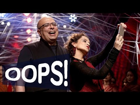 EXCLUSIVE Kangana Ranaut's OOPS moment at the Lakme Fashion Week Winter Festive 2016