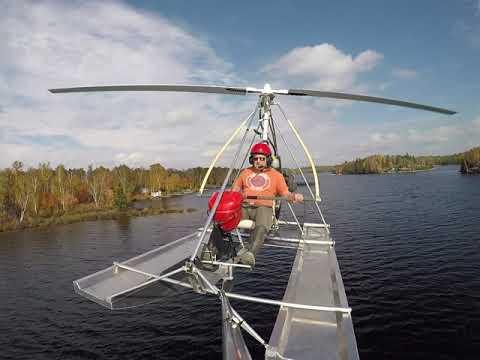 gyroplane Krucker gyro trike 2018
