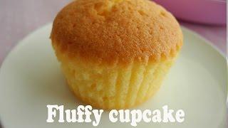 How to make fluffy cupcakes 「基本のカップケーキの作り方」