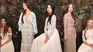 Sarah Seven Spring 2018 Bridal Collection 2018 | New York Bridal Week 2017