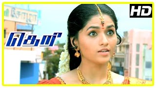 Theri Movie | Vijay comes to meet Sunaina | Raadhika | Comedy Scene | Swaminathan