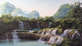 Ban Gioc Waterfall - Paint with Kevin®