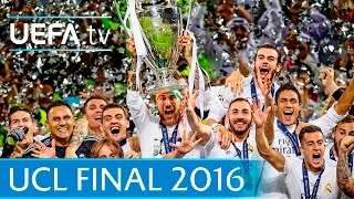 Real Madrid v Atlético: 2016 UEFA Champions League final