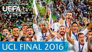 Real Madrid v Atlético: 2016 UEFA Champions League final