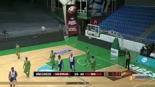 2014 UniLeague Men Basketball Final - LAU BYBLOS VS NDU