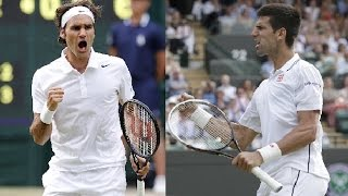 Federer vs Djokovic : 3 Legendary Matches