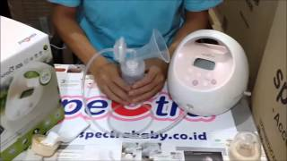 Pompa ASI Spectra Cimilre S2   Closed System Hospital Grade Electric Breast Pump