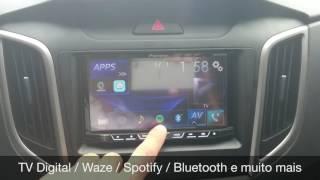 Hyundai Creta 2017 - Central Multimídia Pioneer - ARTSOM AUTO