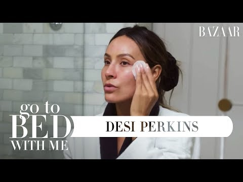 Xxx Mp4 Desi Perkins Nighttime Skincare Routine Go To Bed With Me Harper S BAZAAR 3gp Sex