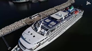 Climb aboard the cruise ship that's docked in Milwaukee