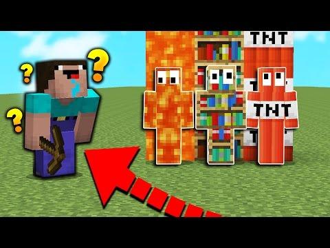 MINECRAFT NOOB PLAYS HIDE N SEEK Minecraft Mods