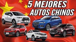 LOS 5 MEJORES AUTOS CHINOS - INFORME CAR MOTOR