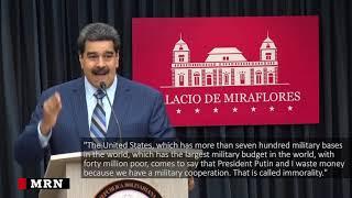 Maduro accuses Washington of plotting his assassination