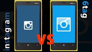 6tag vs Instagram ⚔ | SPEED-TEST on Windows Phone 8.1