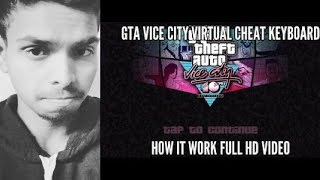 How to put cheat on GTA vice city with virtual keyboard