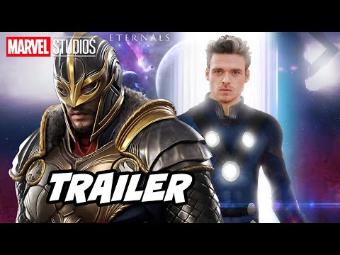 Eternals Trailer 2021 Marvel Phase 4 Movies Trailer Breakdown and Easter Eggs