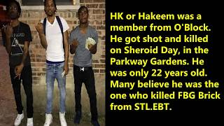 HK FROM O'BLOCK JUST SHOT & KILLED IN PARKWAY GARDENS