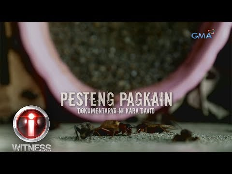 I Witness Pesteng Pagkain dokumentaryo ni Kara David full episode