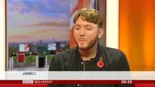 James Arthur BBC Breakfast 2016