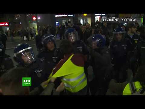 Xxx Mp4 Des Gilets Jaunes Protestent Dans Les Rues De Lisbonne 3gp Sex