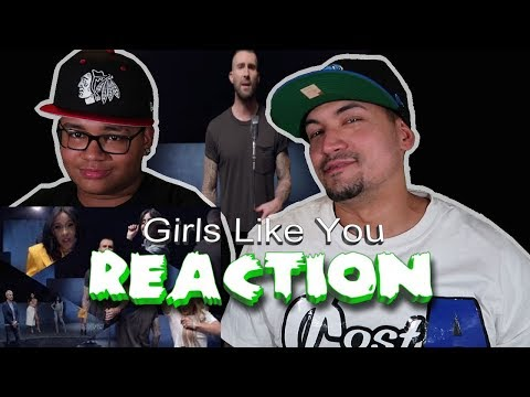 Maroon 5 Girls Like You REACTION father & son
