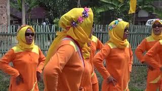 Lomba Gerak Jalan - Ibu-Ibu PKK Desa Tanjung Bunut