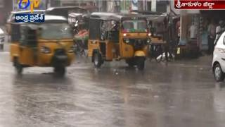 Heavy Rain Lashes Srikakulam District