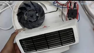 Electric Room Heater repair দেখুন কিভাবে রুম হিটার রিপিয়ার করা হয়