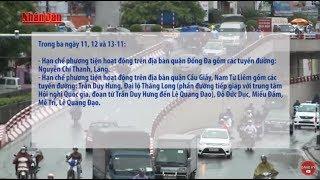 Tin Thời sự Hôm nay (6h30 - 08 /11/2017): Phân luồng giao thông phục vụ APEC 2017 tại Hà Nội