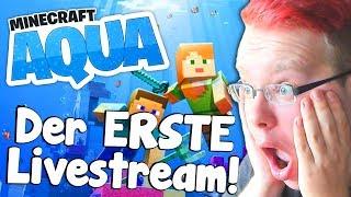 Der ERSTE Minecraft AQUA Livestream!