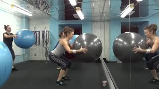 Fitball. Силовая тренировка с мячом.