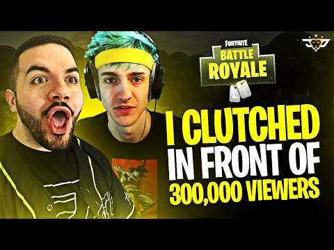 Xxx Mp4 I CLUTCH IN FRONT OF 300 000 VIEWERS 20 000 Match W NINJA Fortnite Battle Royale 3gp Sex