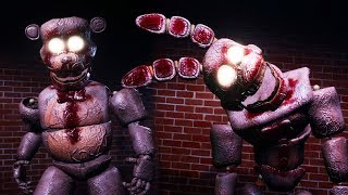 I FOUND INSANE FREDDY AND BONNIES SECRET ROOM... | Final Nights 4 GOOD ENDING (FREE ROAM FNAF)