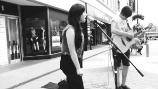 Indifferent - Someone Somewhere - Asking Alexandria cover. (Acoustic Busking Set - Leeds.)