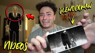 DONT WATCH SLENDER MAN VIDEOS AT 3AM OR SLENDERMAN WILL APPEAR!! (ACTUALLY WORKS)