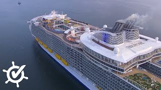 Harmony of the Seas: Live-Rundgang auf dem größten Kreuzfahrtschiff der Welt