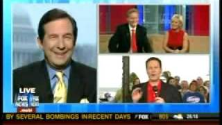 """Awkward! Fox & Friends Confronts Wallace Over His """"Hope"""" That Palin Would """"Sit On [His] Lap"""""""