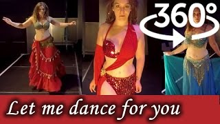 360° Video 4K | Belly Dancing in Virtual Reality | Nikki - A Spirit in Motion