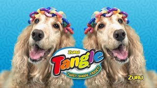 New ZURU Tangle Fidget Toy   Official TV Commercial   Twist! Shape! Fidget!