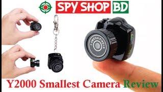 Y2000 Mini Camcorder Thumb Size Spy Video Camera in Bangladesh