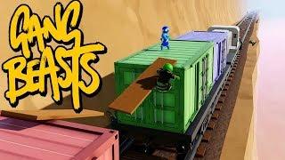 GANG BEASTS ONLINE - Bullet Train [MELEE]