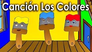 La Cancion de los Colores para niños - Rondas Infantiles - Videos Educativos en español
