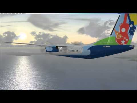 Xxx Mp4 FSX Hilo Intl PHTO To Kahului PHOG MJC8 Q400 Fictional Repaint Island Air 3gp Sex