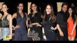 Sushant Singh Rajput, Kriti Sanon, Jacqueline Fernandez arrive in style at Gauri Khan's party