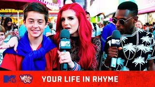 Justina Valentine Gives Fans A Personalized Rap 🔥 | Your Life In Rhyme | Wild